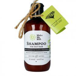 Make me Bio Delikatnie pieniący się szampon do włosów przetłuszczających się wazność 10.2018