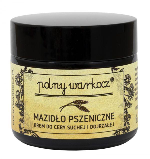 POLNY WARKOCZ - Mazidło pszeniczne – krem do cery suchej i dojrzałej