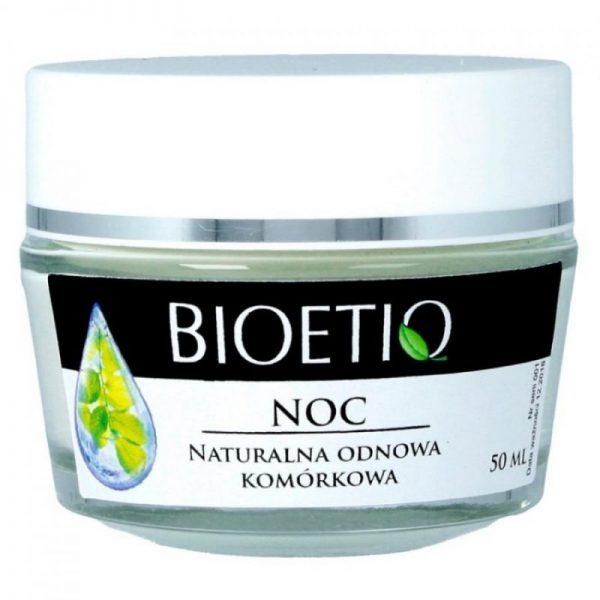 BIOETIQ – Hypoalergiczny krem do twarzy na noc 40+Odnowa komórkowa