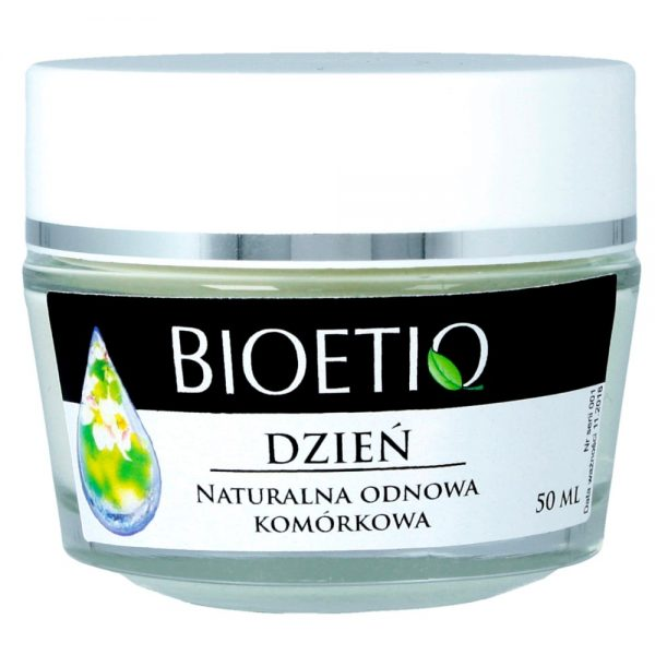 BIOETIQ – Hypoalergiczny krem do twarzy na dzień 40+ Odnowa komórkowa