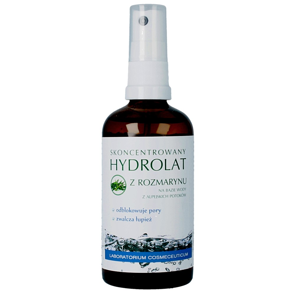 Polny Warkocz – Hydrolat – woda kwiatowa z rozmarynu lekarskiego ważność 12.2018