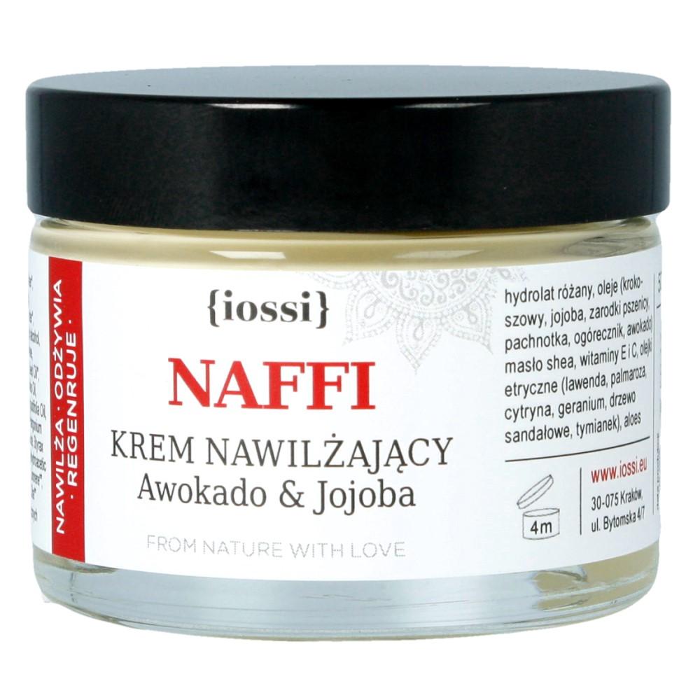 IOSSI -Krem nawilżający NAFFI z avocado i jojoba