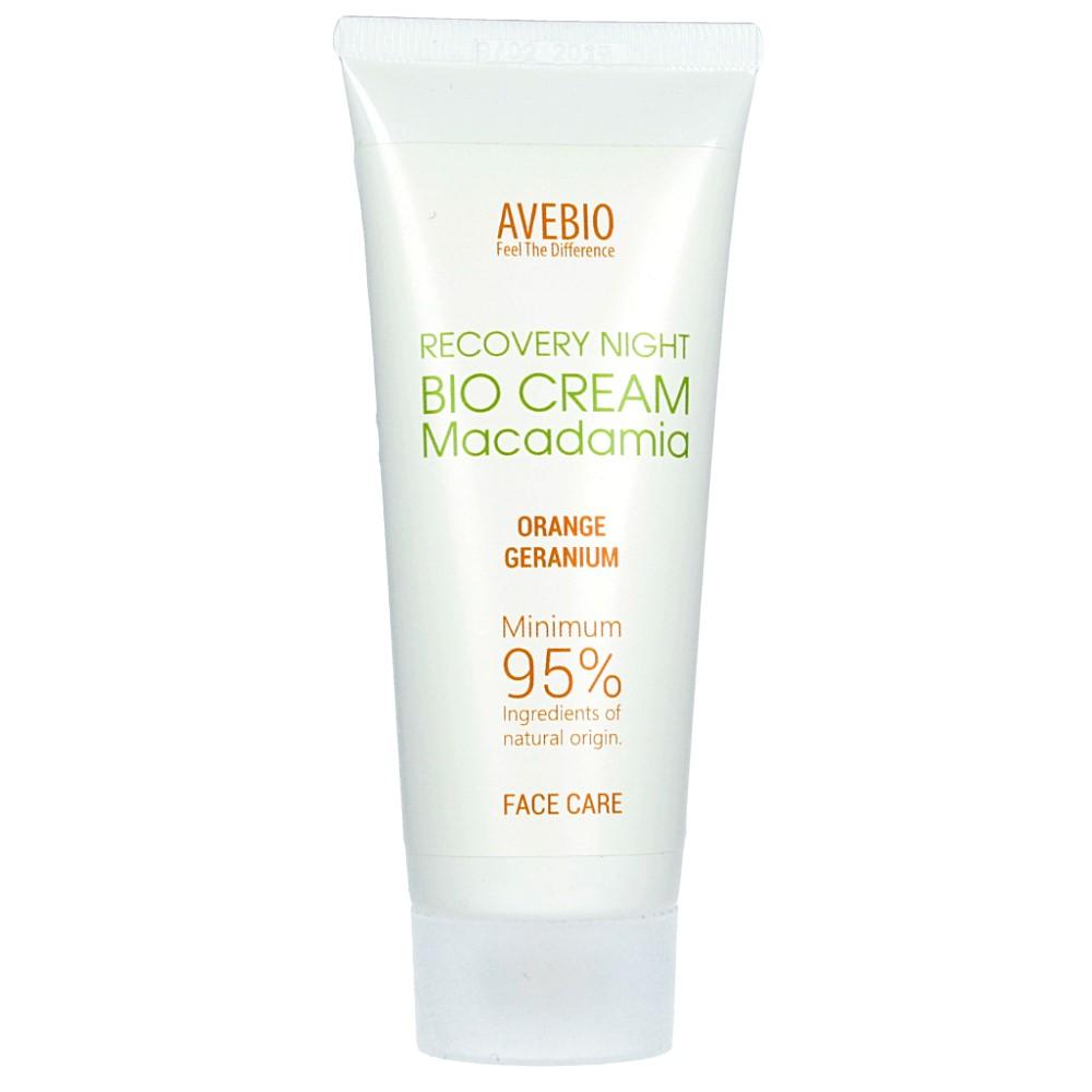 Avebio – BIO Krem regenerujący na noc z olejem macadamia