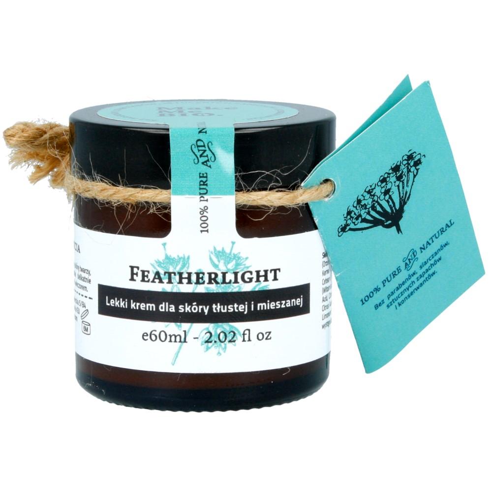 Make me Bio Featherlight – lekki krem do skóry tłustej i mieszanej