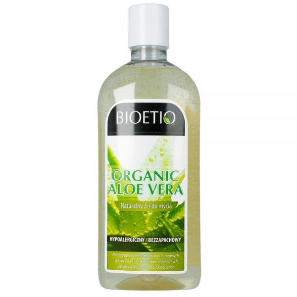 BIOETIQ – Naturalny żel do mycia – Organic Aloe Vera