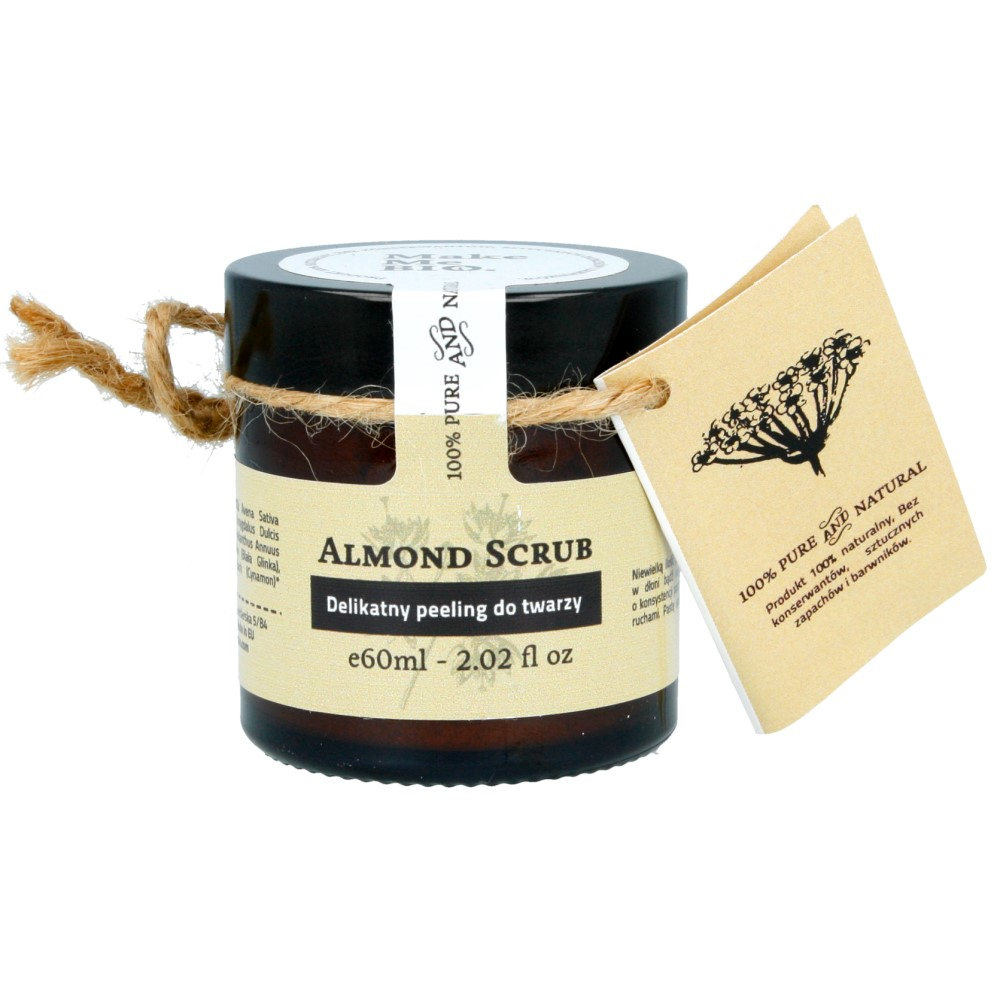 Make ma Bio Delikatny peeling do twarzy – Almond scub