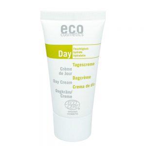 Eco Cosmetics DAY – Krem nawilżający do twarzy na dzień z granatem i papają