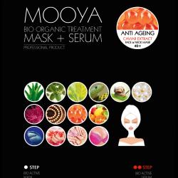 MOOYA BIO ORGANIC – Ujędrnienie i młodość -maska i serum