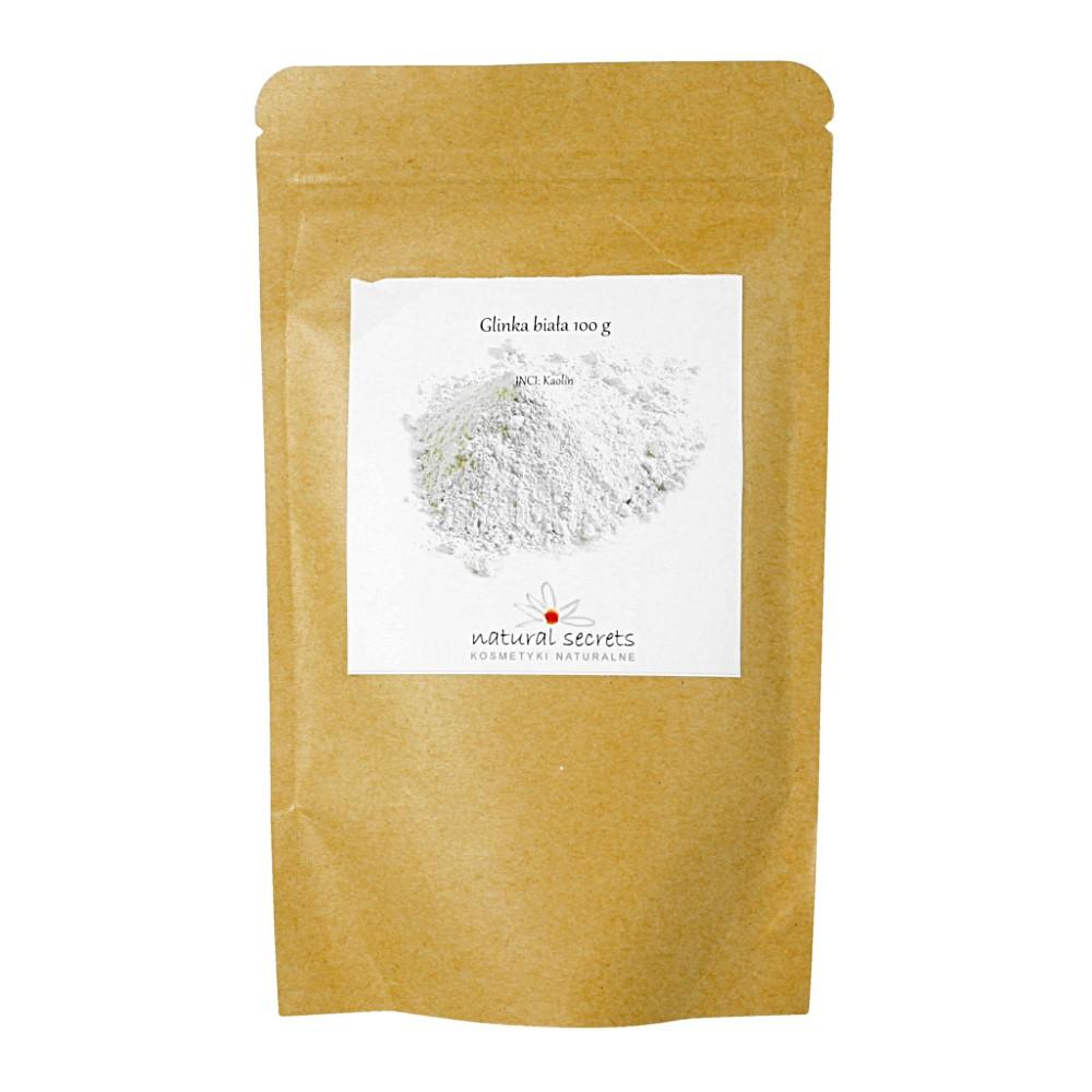 Naturalna biała glinka — 100g