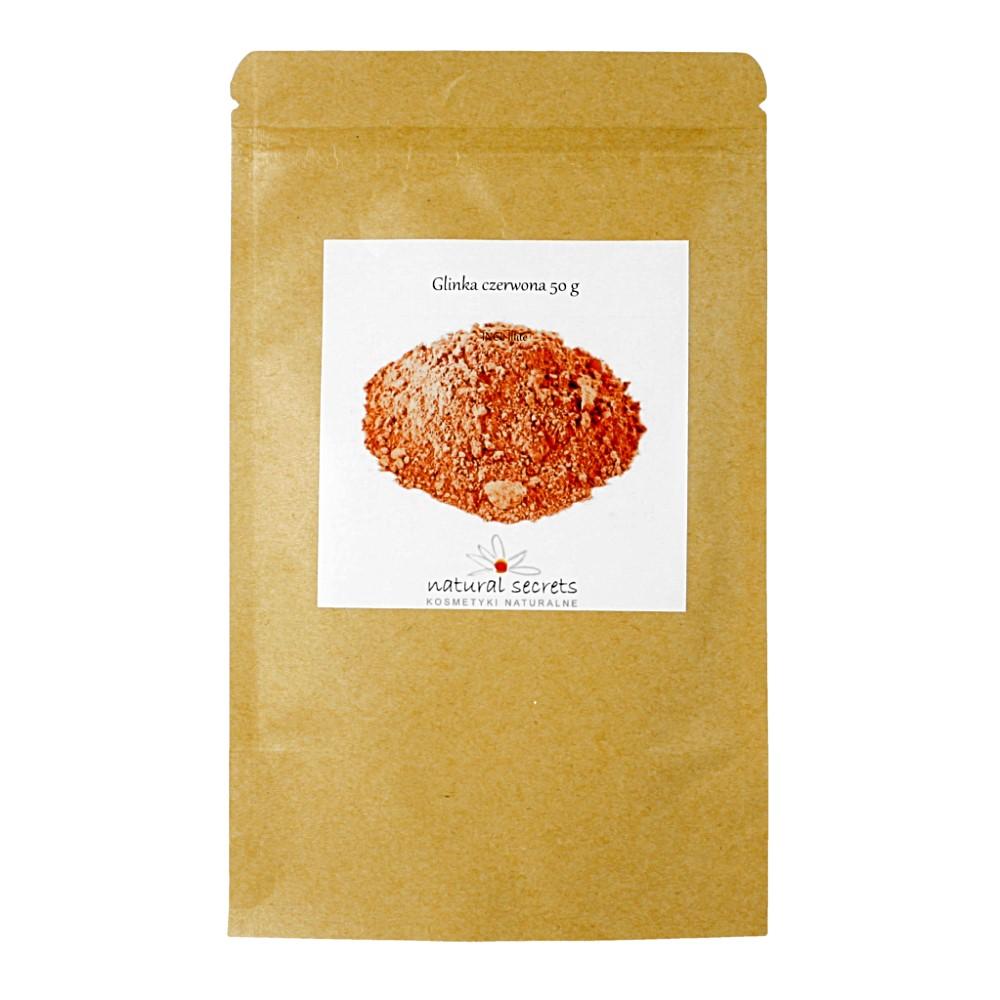 Naturalna glinka czerwona — 50g
