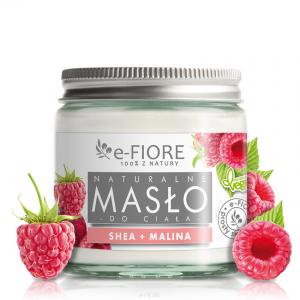 E-FIORE – Masło do ciała 100% Naturalne Shea Butter MALINOWE 120ml
