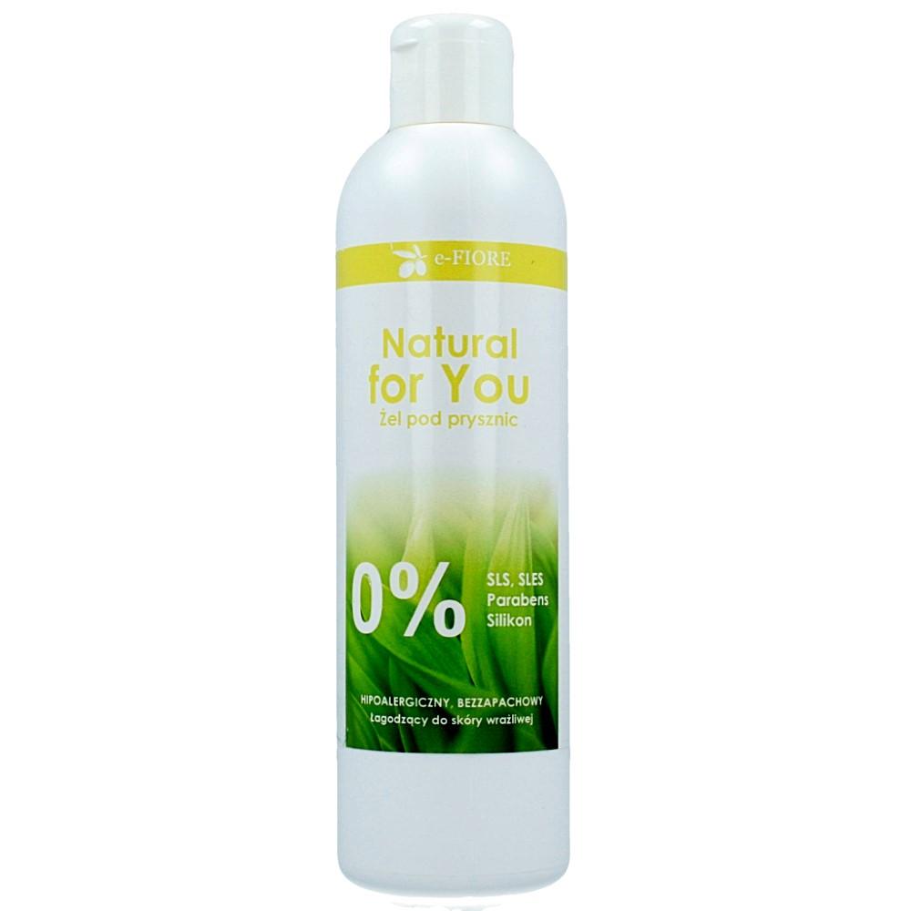 E-FIORE – Hipoalergiczny żel pod prysznic z aloesem i masłem shea