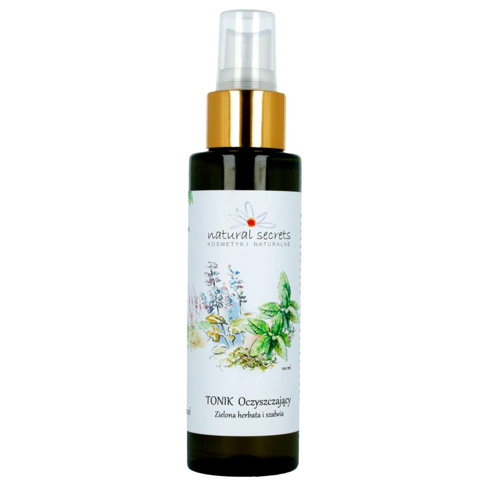 Tonik oczyszczający – zielona herbata i szałwia
