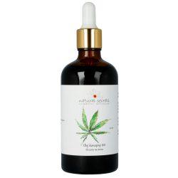 Naturalny olej konopny BIO – do twarzy i ciała 100ml