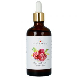 Natural Secrets – Naturalny olej z pestek Malin – do twarzy i ciała 100ml