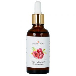 Natural Secrets – Naturalny olej z pestek Malin – do twarzy i ciała 50ml