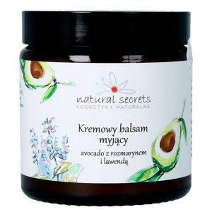 Natural secrets – Kremowy balsam myjący do demakijażu – ziołowy do cery mieszanej i tłustej