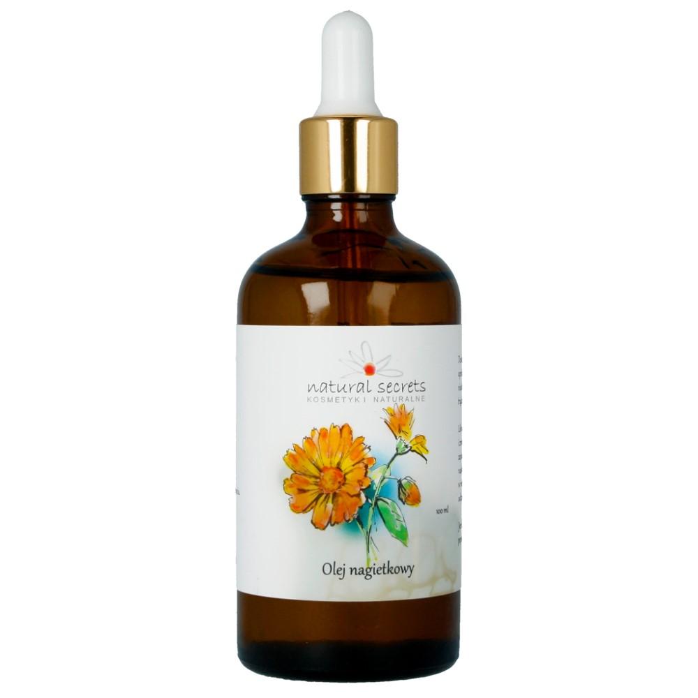 Naturalny olej nagietkowy do twarzy i ciała 100ml