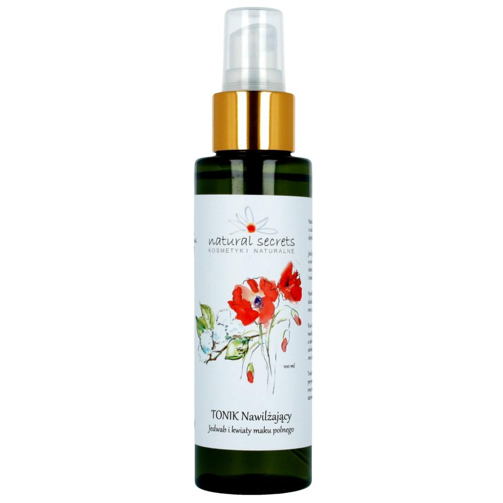 Tonik nawilżający – jedwab i kwiaty maku polnego