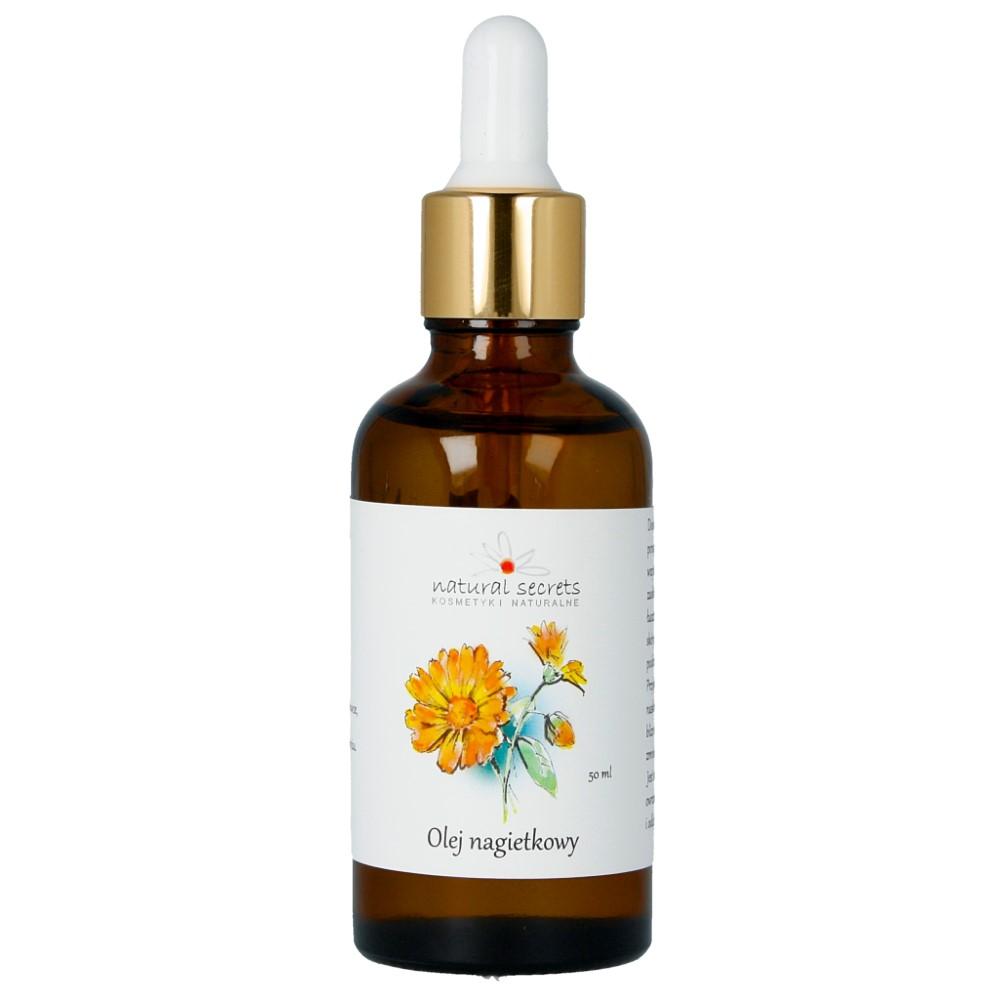 Naturalny olej nagietkowy do twarzy i ciała 50ml