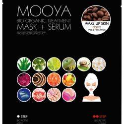 """MOOYA BIO ORGANIC """"Pobudzenie skóry"""" -maska i serum"""