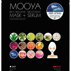 MOOYA BIO ORGANIC – Lifting i antiaging -maska i serum