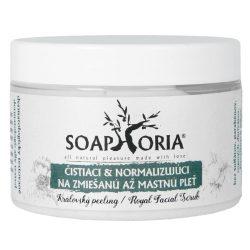 Oczyszczający i normalizujący peeling do twarzy – cera tłusta i mieszana