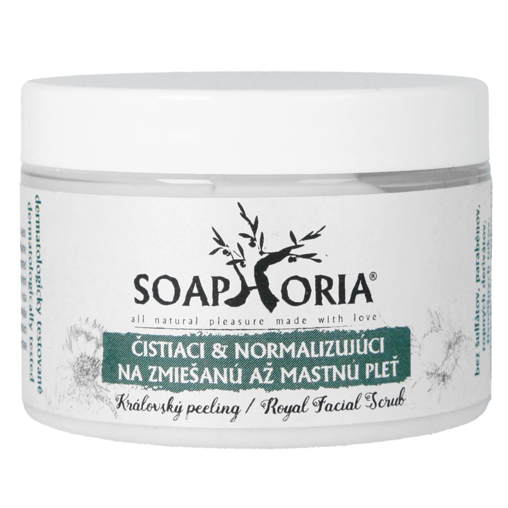 Oczyszczający i normalizujący peeling do twarzy – cera tłusta i mieszana ważność 10.2019