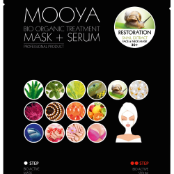 "MOOYA BIO ORGANIC ""Odbudowa komórkowa -maska i serum"