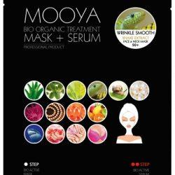 MOOYA BIO ORGANIC – Wygładzenie zmarszczek -maska i serum