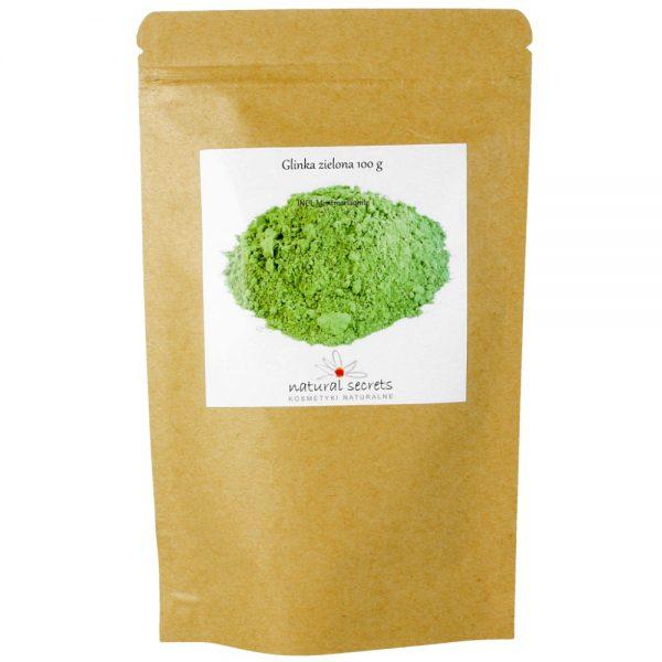 Natural Secrets – Naturalna glinka zielona, 100g