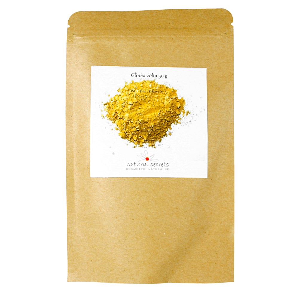 Naturalna żółta glinka — 50g