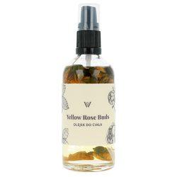 WILLOW ORGANICS – Yellow Rose Buds – botaniczny olejek do ciała z pąkami róż
