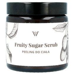 WILLOW ORGANICS – Fruity Sugar Scrub – owocowy peeling cukrowy