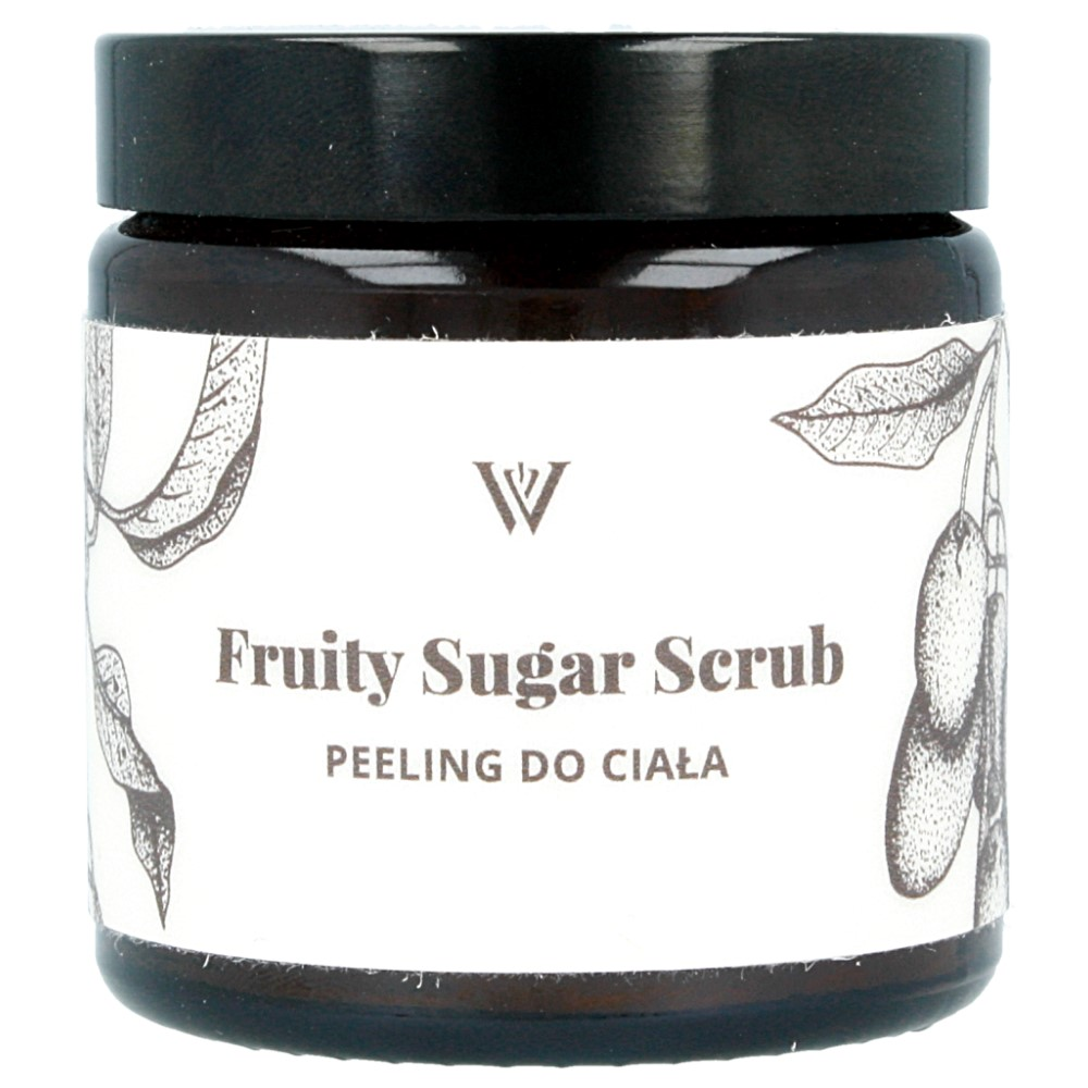 WILLOW ORGANICS – Fruity Sugar Scrub – owocowy peeling cukrowy