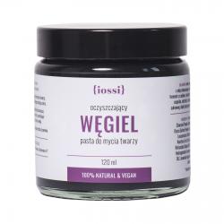 IOSSI Węgiel – oczyszczająca pasta do mycia twarzy
