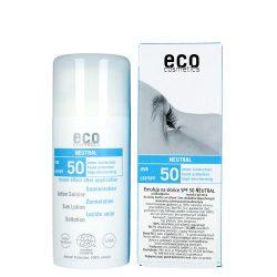 ECO COSMETICS –  Emulsja do twarzy i ciała SPF+50 – skóra bardzo wrażliwa 100ml