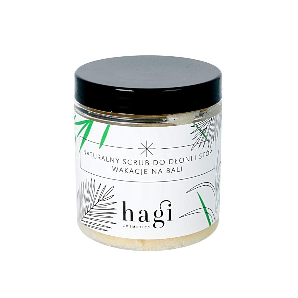 Hagi – naturalny scrub do dłoni i stóp z roślinną lanoliną