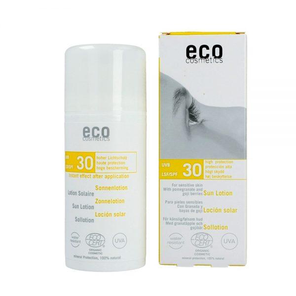 BIO Emulsja przeciwsłoneczna do twarzy i ciała SPF+30 – do skóry wrażliwej  100ml
