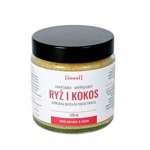 IOSSI – Ryż i kokos – naturalna pasta do twarzy