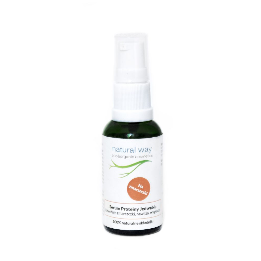 NATURAL WAY – Serum do twarzy Proteiny Jedwabiu