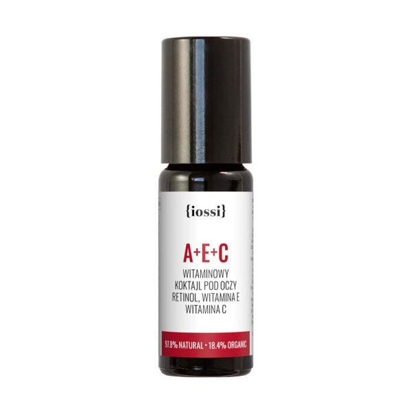 IOSSI – A+E+C Witaminowy koktajl pod oczy. Retinol, witaminy E i C (metalowa kuleczka)