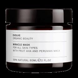 EVOLVE ORGANIC – Miracle Mask – Maska oczyszczająca z kwasami owocowymi