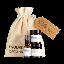 EVOLVE ORGANIC – Zestaw bestsellerów do pielęgnacji skóry