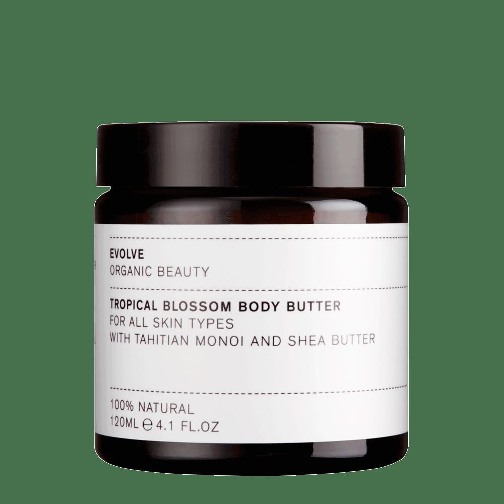 EVOLVE ORGANIC – Tropical Blossom Tropikalne Masło do ciała z olejem Monoi