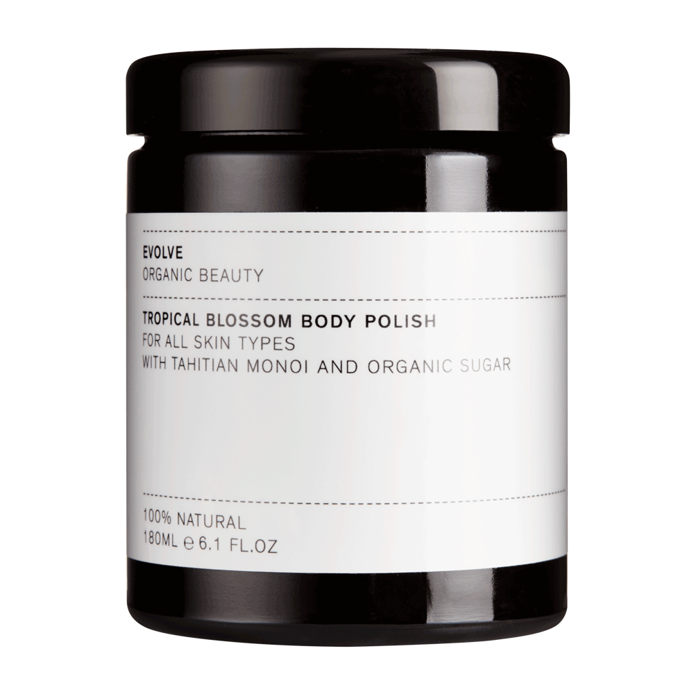EVOLVE ORGANIC – Tropical Blossom Body Polish – Tropikalny Peeling do Ciała