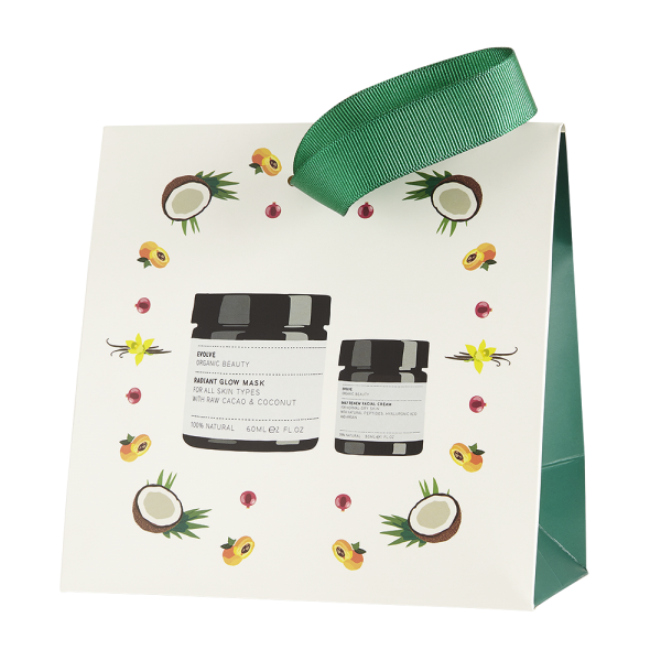 EVOLVE ORGANIC – Chocolate Skin Beauty Bag – Zestaw upominkowy