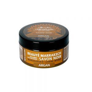 Beaute Marrakech – naturalne czarne mydło SAVON NOIR Arganowe 100g