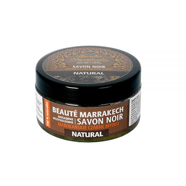 Beaute Marrakech – naturalne czarne mydło SAVON NOIR 100g