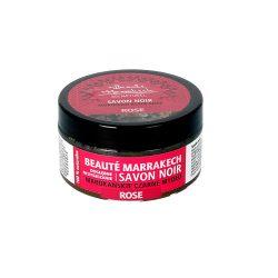 Beaute Marrakech – naturalne czarne mydło SAVON NOIR z olejem różanym 100g